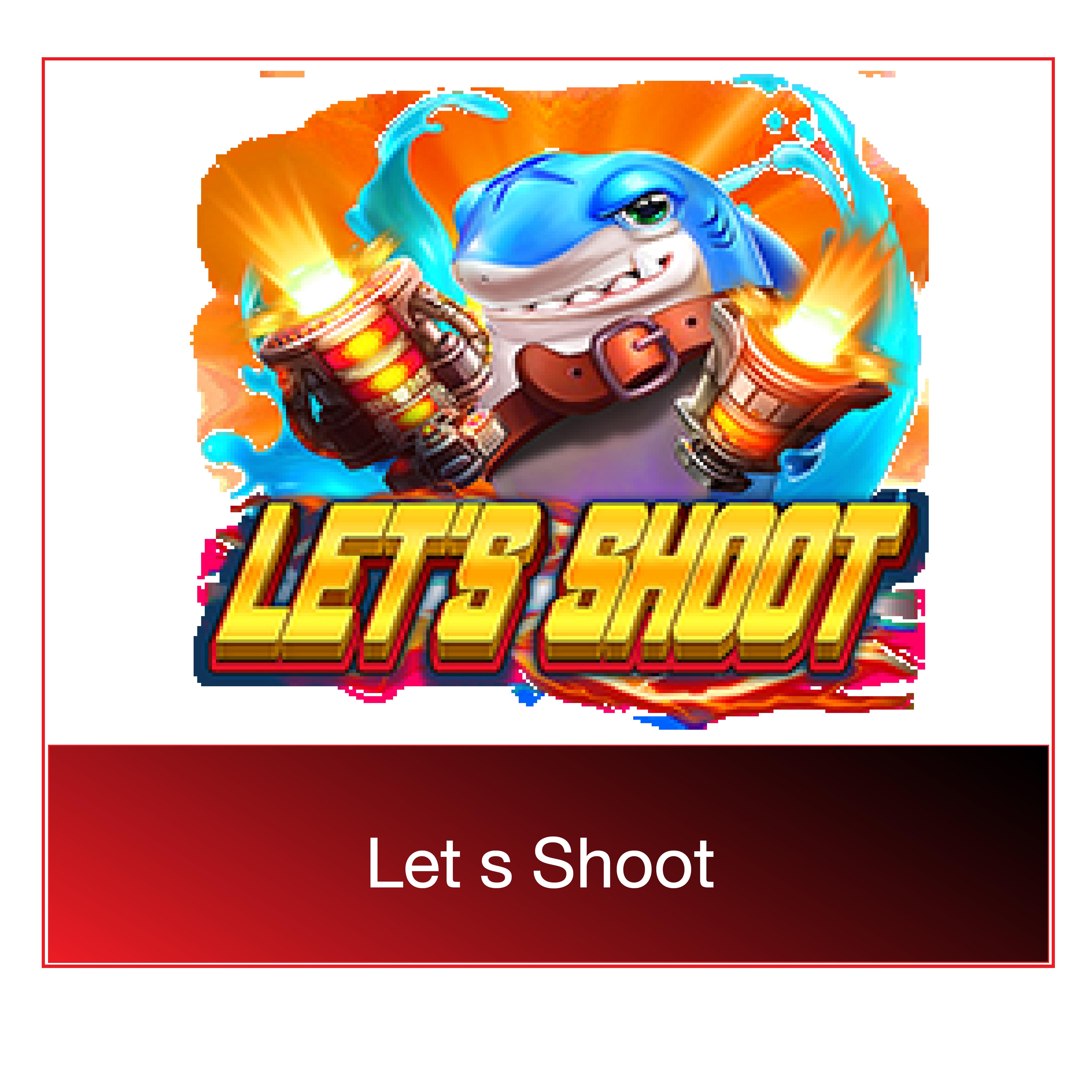 let's shoot demo เกมยิงปลา